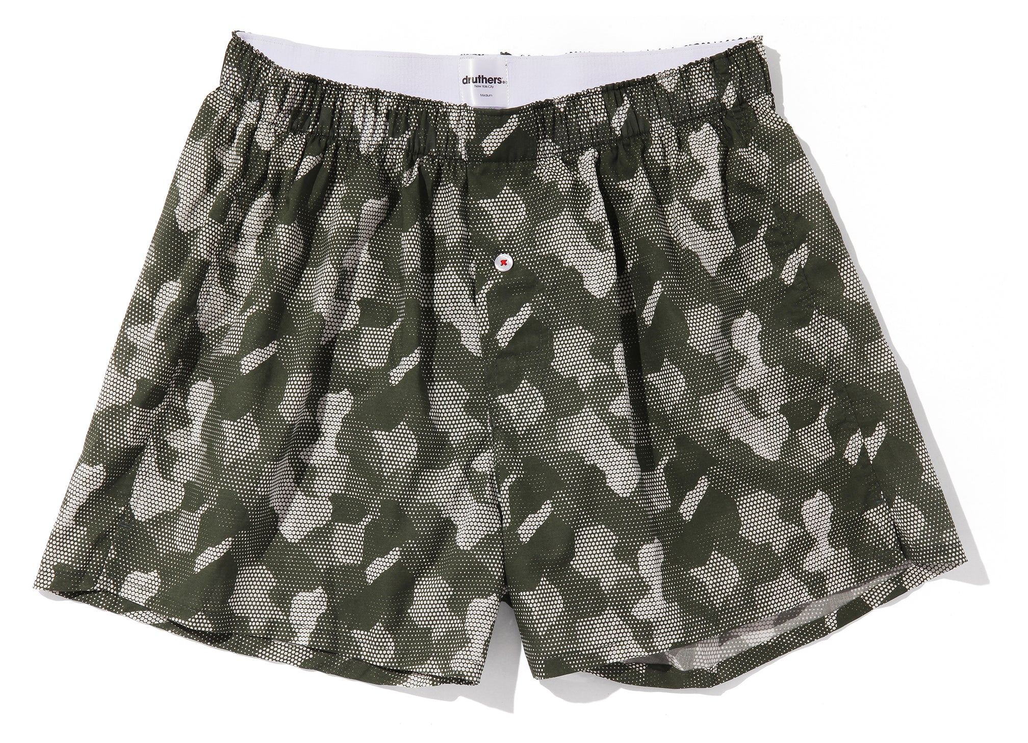ORGANIC COTTON BOXER - DIGITAL CAMO - OLIVE