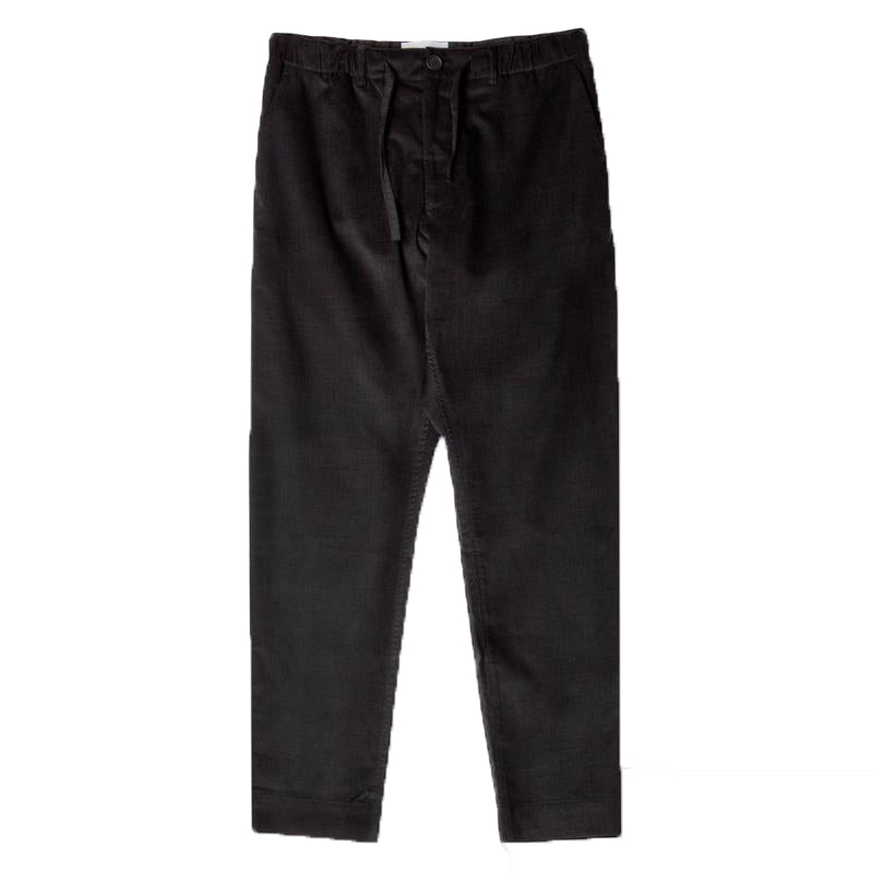 INVERNESS TROUSER - BLACK CORDUROY
