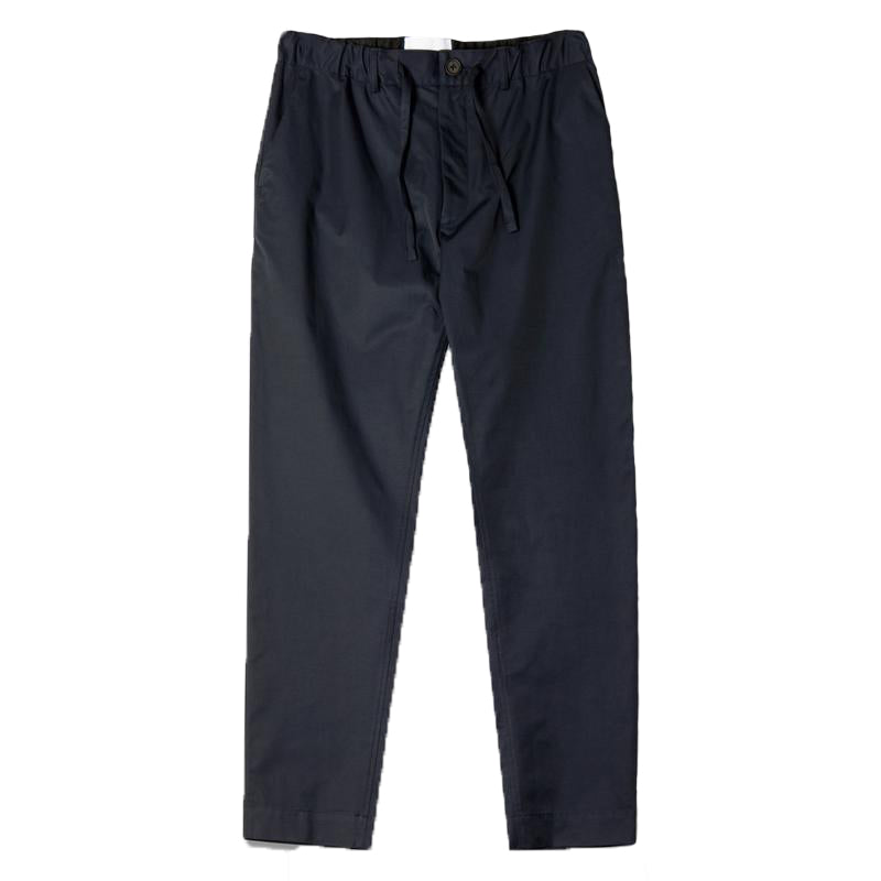 INVERNESS TROUSER - NAVY WATER REPELLANT COTTON