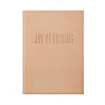 JOY OF COOKING, NATURAL LEATHER BOOK