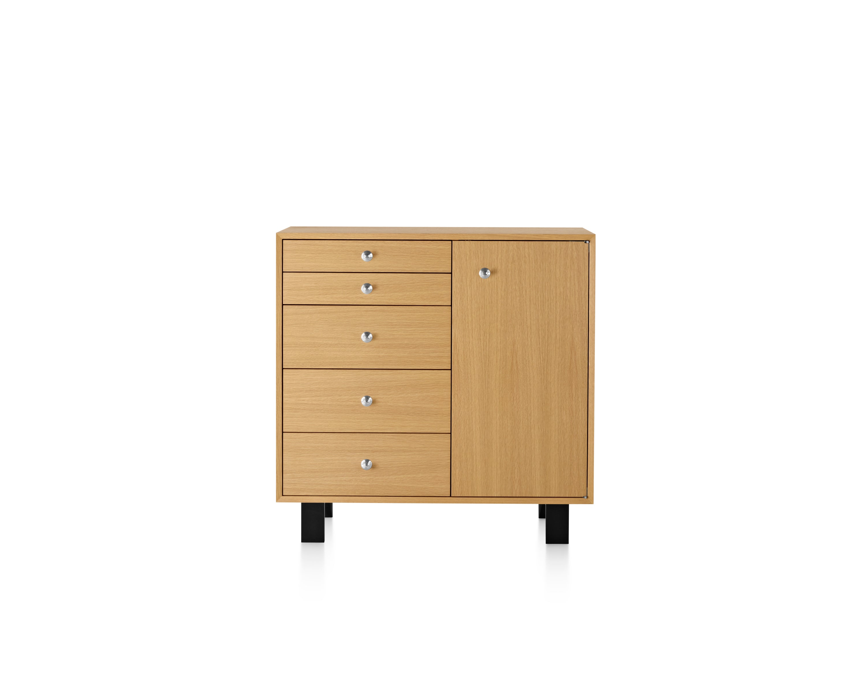 Nelson™ BASIC CABINET LARGE 34X40, 5 DRAWER  Designed by George Nelson for Herman Miller®