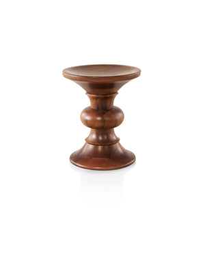 EAMES WALNUT STOOL Designed by Charles and Ray Eames for Herman Miller®