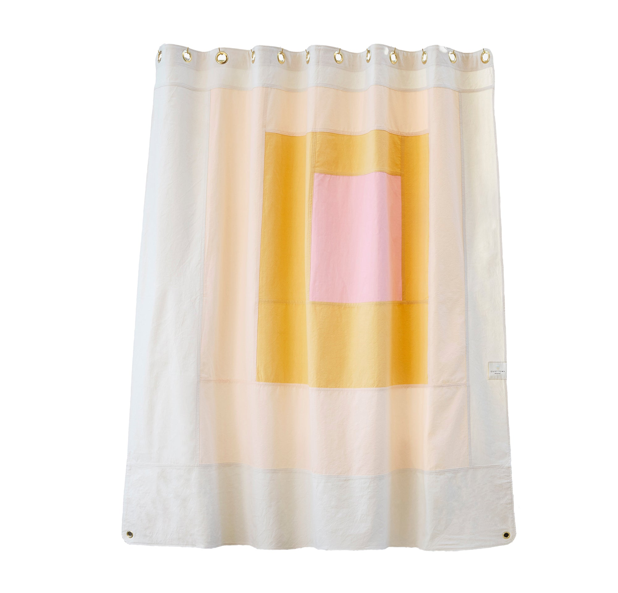CANVAS SHOWER CURTAIN - MARFA CLOUD