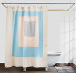 CANVAS SHOWER CURTAIN - MARFA SKY