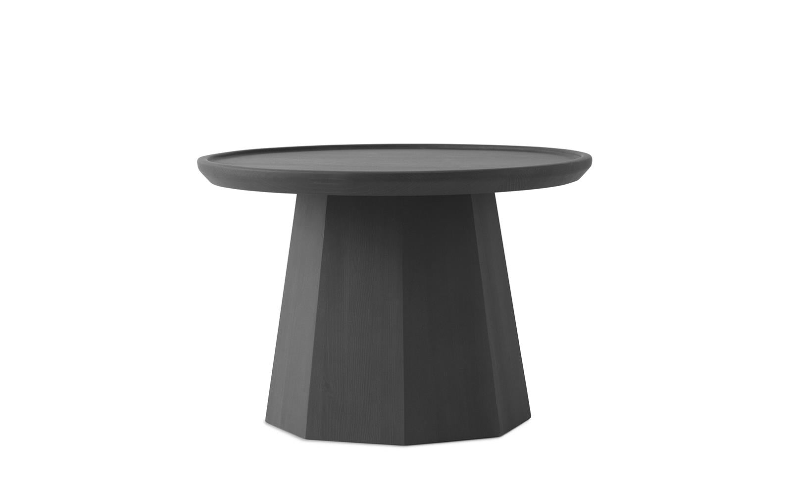 PINE TABLE LARGE - DARK GREY