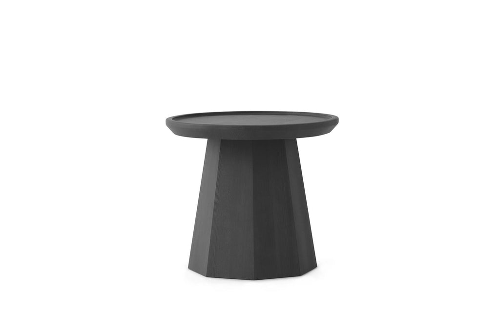 PINE TABLE SMALL - DARK GREY