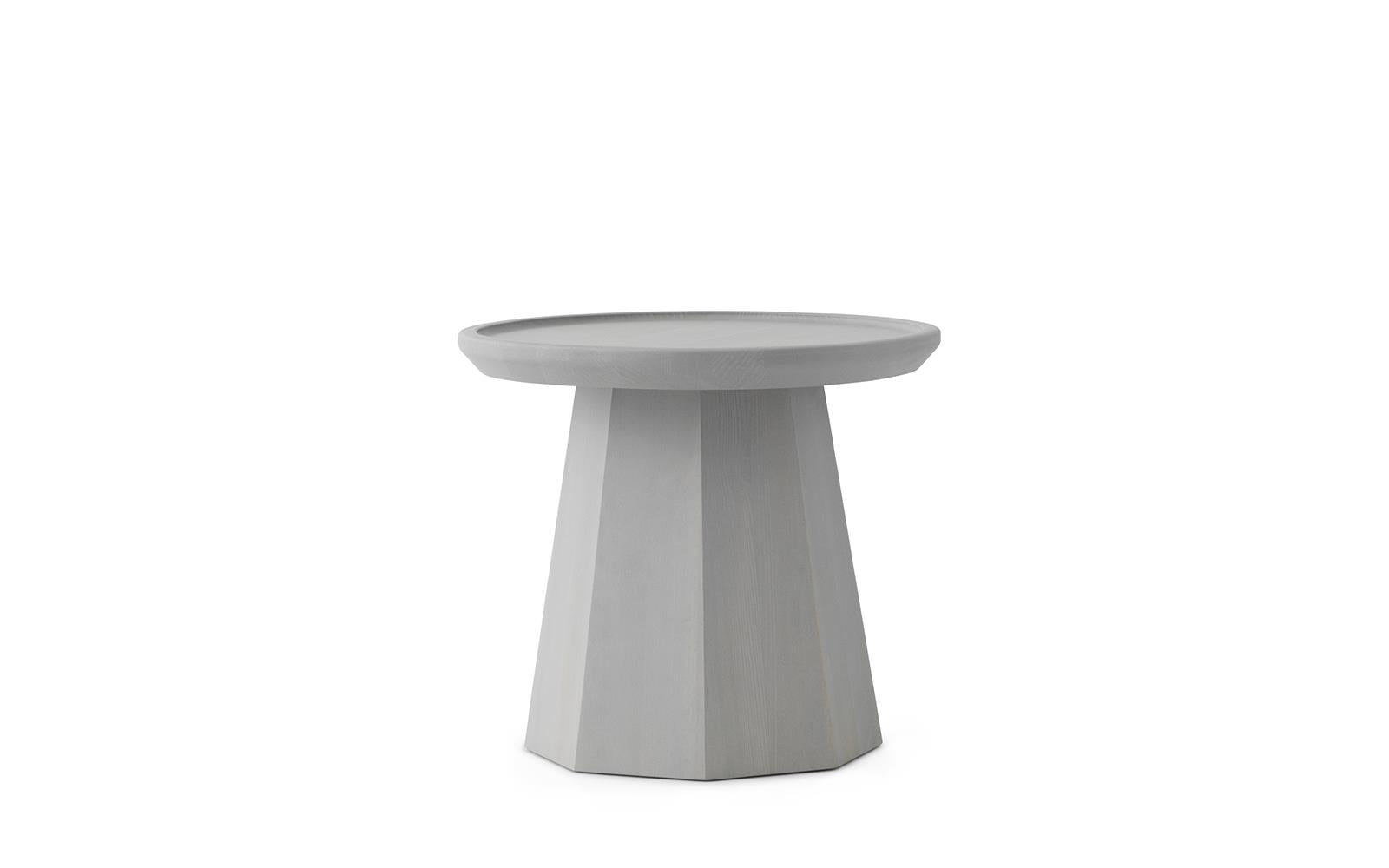 PINE TABLE SMALL - LIGHT GREY