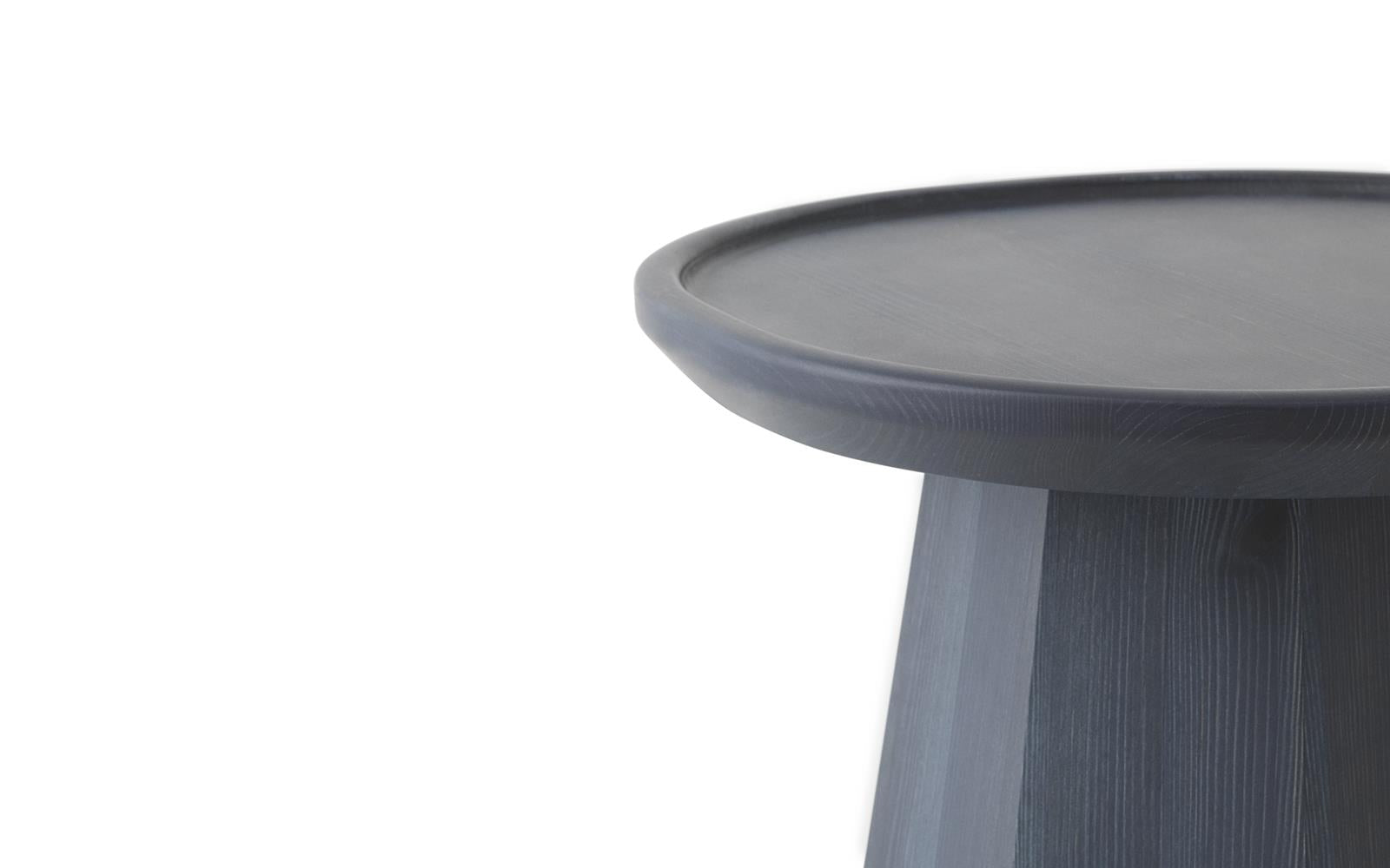 PINE TABLE SMALL - DARK BLUE