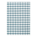 REN TEA TOWEL - CHECK CLOUDY BLUE