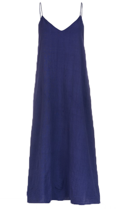 SLIP DRESS - INDIGO BLUE