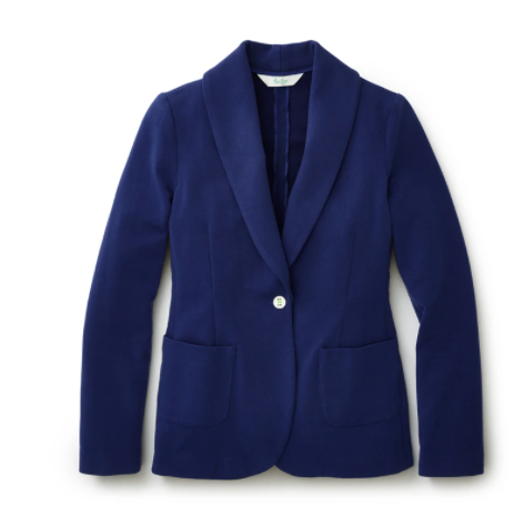 DONNA COOL DOWN BLAZER - TWILIGHT