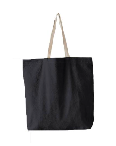 CANVAS TOTE NIGHT RIDER - OVERSIZED