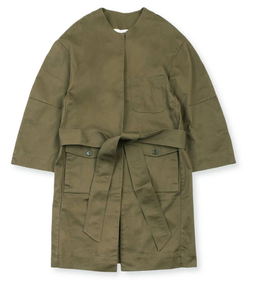 DOCTOR COAT - KHAKI GREEN