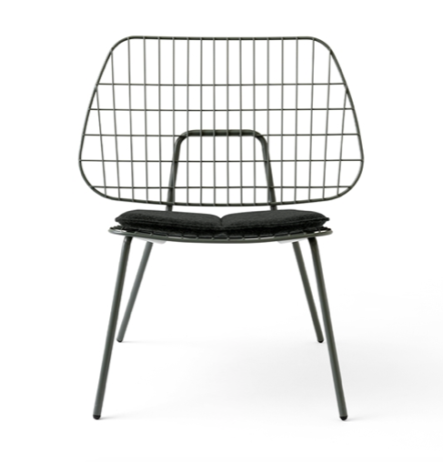 MENU WM STRING LOUNGE CHAIR CUSHION - DARK GREY - OUTDOOR