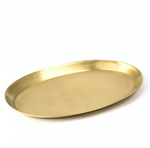 BRASS OVAL TRAY - LARGE