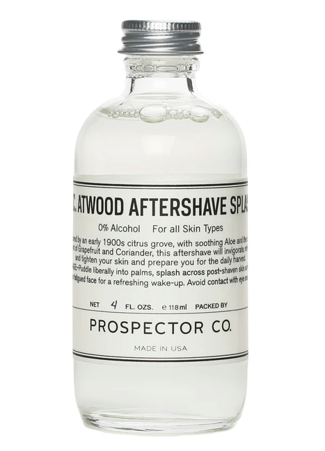 PROSPECTOR CO. K.C. ATWOOD AFTERSHAVE SPLASH