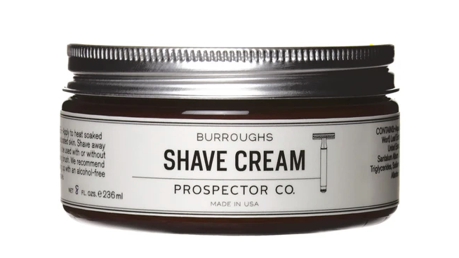 PROSPECTOR CO. BURROUGHS SHAVE CREAM