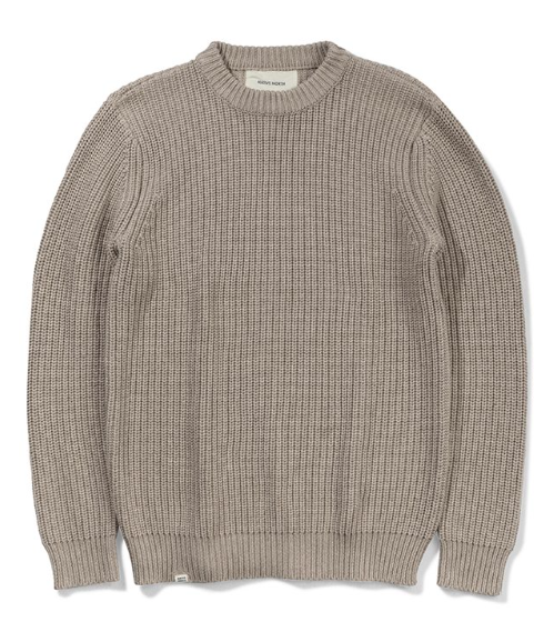 ASKER WOOL KNIT - CAMEL