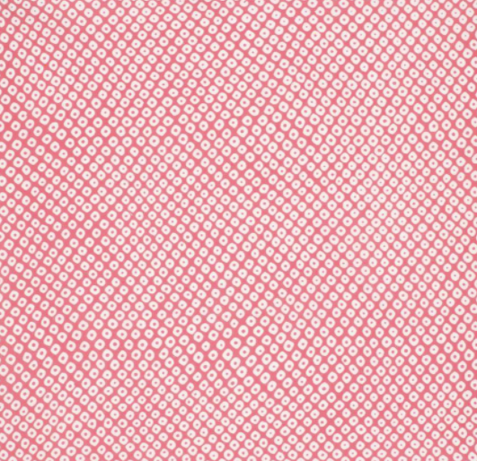 JAPANESE POCKET SQUARE - PINK DOTS