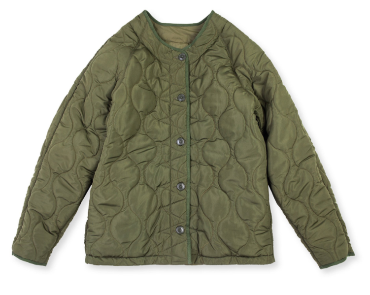 LINER JACKET - ARMY GREEN