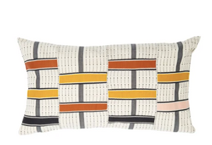 TO + FRO KENTE CUSHION - GINGER