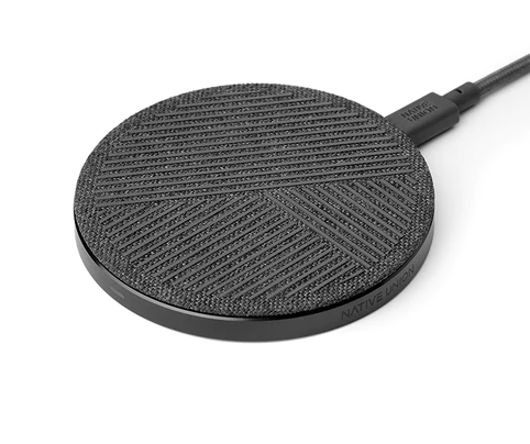 NATIVE UNION DROP WIRELESS CHARGER - Zebra or Rose Color