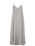 SLIP DRESS - GREY STRIPE