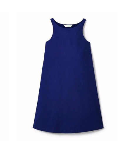 QUIMBY DRESS - NAVY