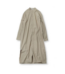 LONG SHIRT DRESS - KHAKI