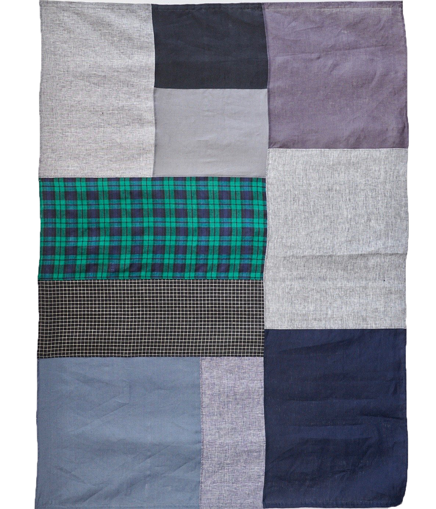 PATCHWORK TABLECLOTH - LINEN