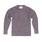 THE ENGLISH DIFFERENCE REVERSE KNIT CREW SWEAT - MULTI