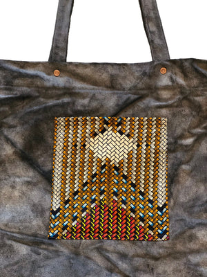 MDC x L&H EVERYDAY TOTE - PATTERN CHARCOAL