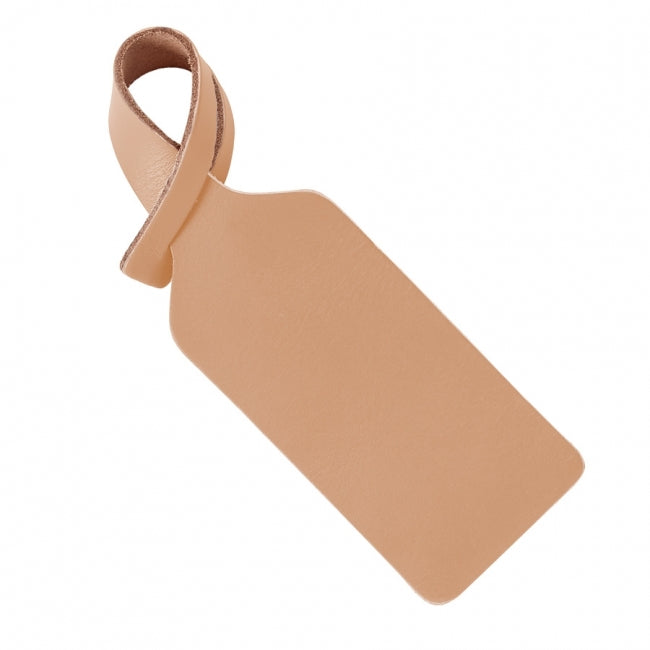 LUGGAGE TAG - NATURAL VACHETTA LEATHER