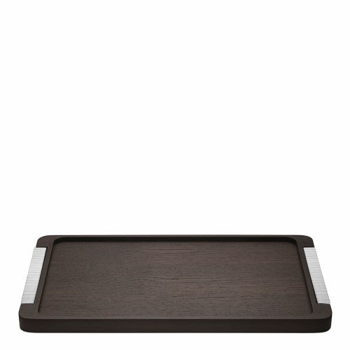 BERNADOTTE TRAY WOOD & STAINLESS STEEL