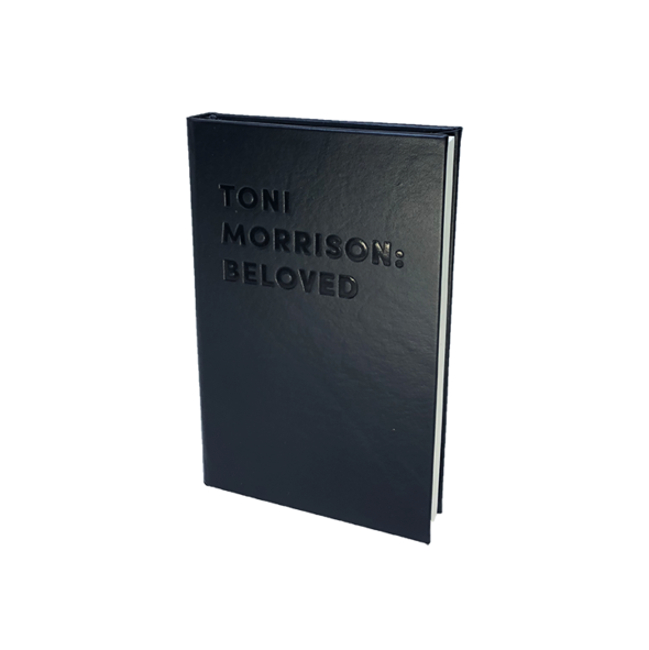 TONI MORRISON: BELOVED - DEBOSSED LEATHER BOOK