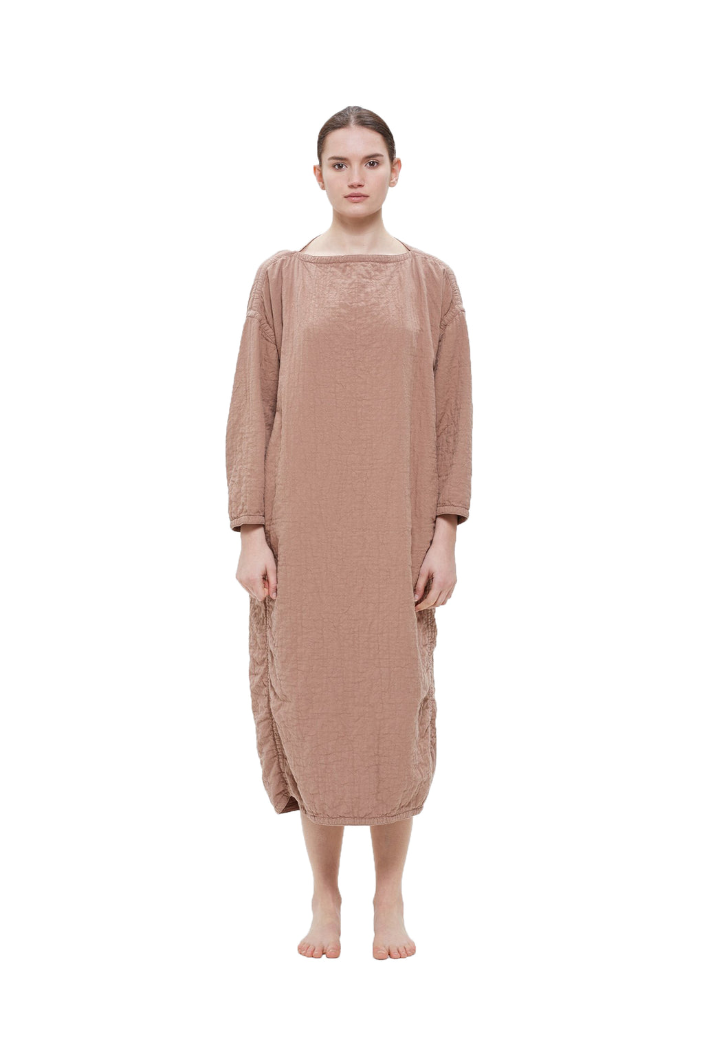 EASY DRESS - CAMEL