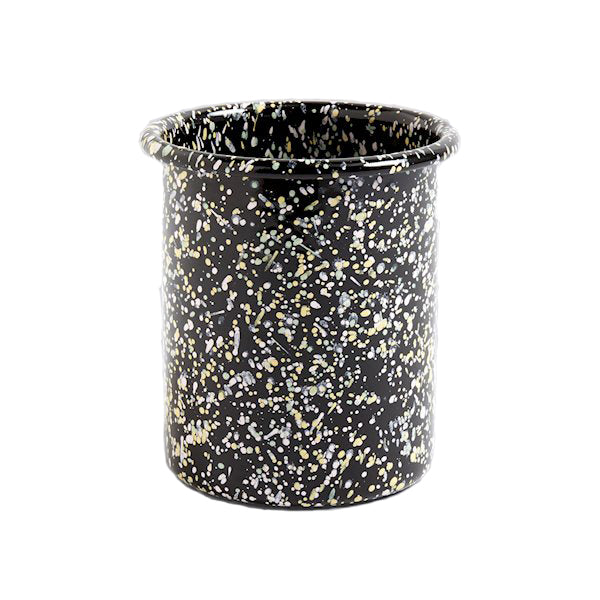 ENAMEL UTENSIL HOLDER