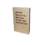 JAMES BALDWIN: GO TELL IT ON THE MOUNTAIN - DEBOSSED LEATHER BOOK