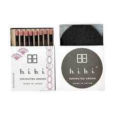 HIBI INCENSE MATCHES, SANDALWOOD
