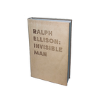 RALPH ELLISON: INVISIBLE MAN - DEBOSSED LEATHER BOOK