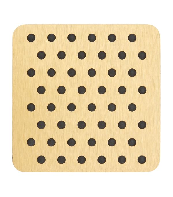 COASTERS - GOLD - SET OF 4