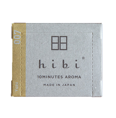 HIBI INCENSE MATCHES, YUZU 07