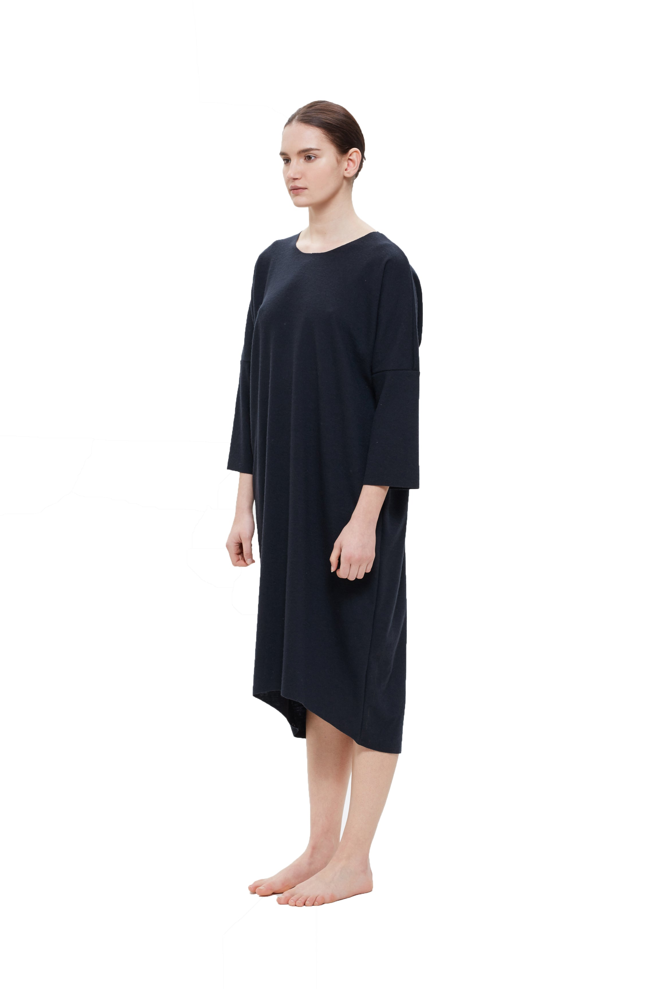 LONG BUD DRESS - MIDNIGHT