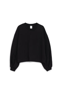 LULU SWEATSHIRT - BLACK