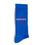 PLEASE VOTE - BLUE ATHLETIC SOCK