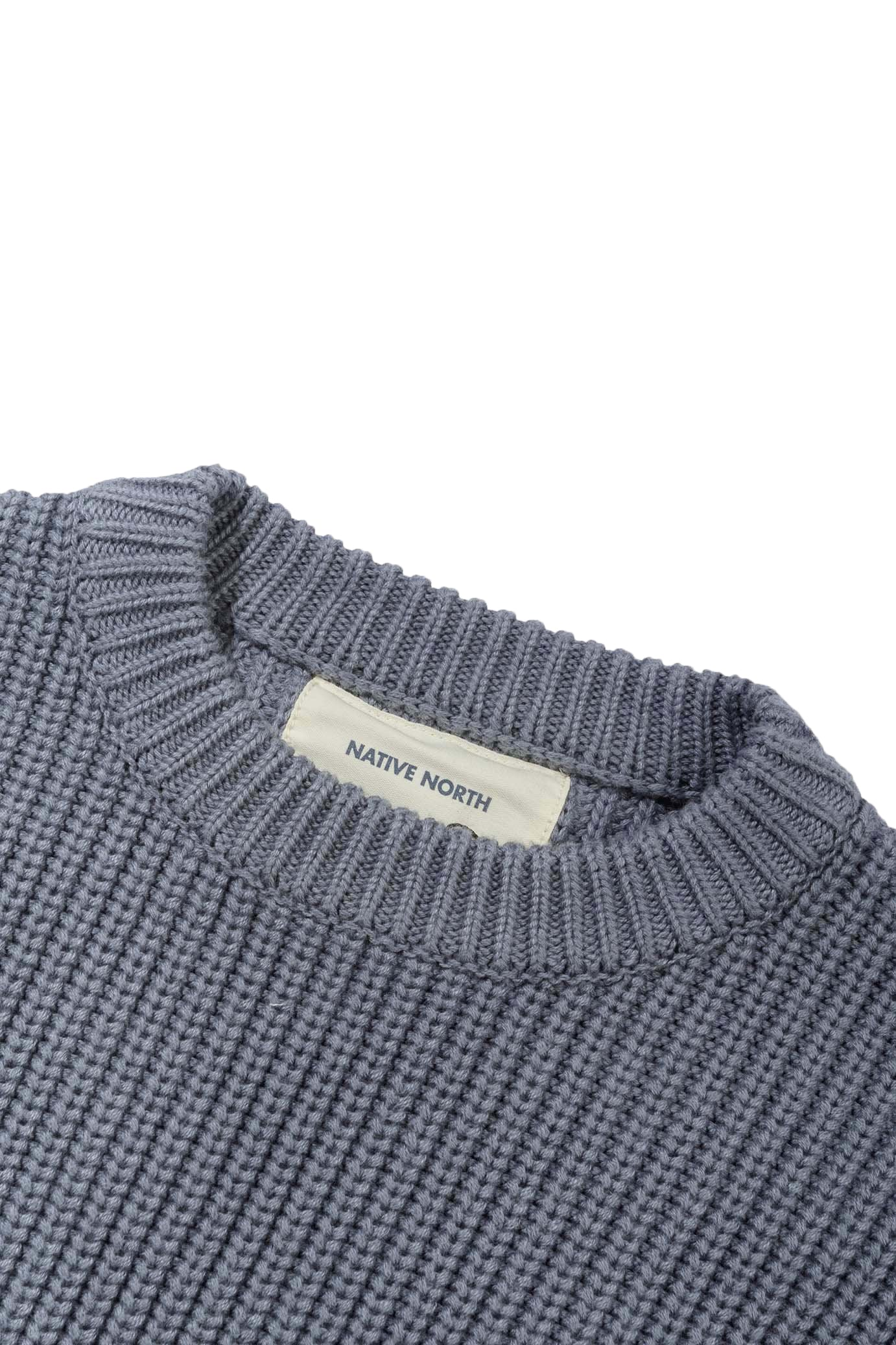 ASKER WOOL KNIT - INDIGO BLUE