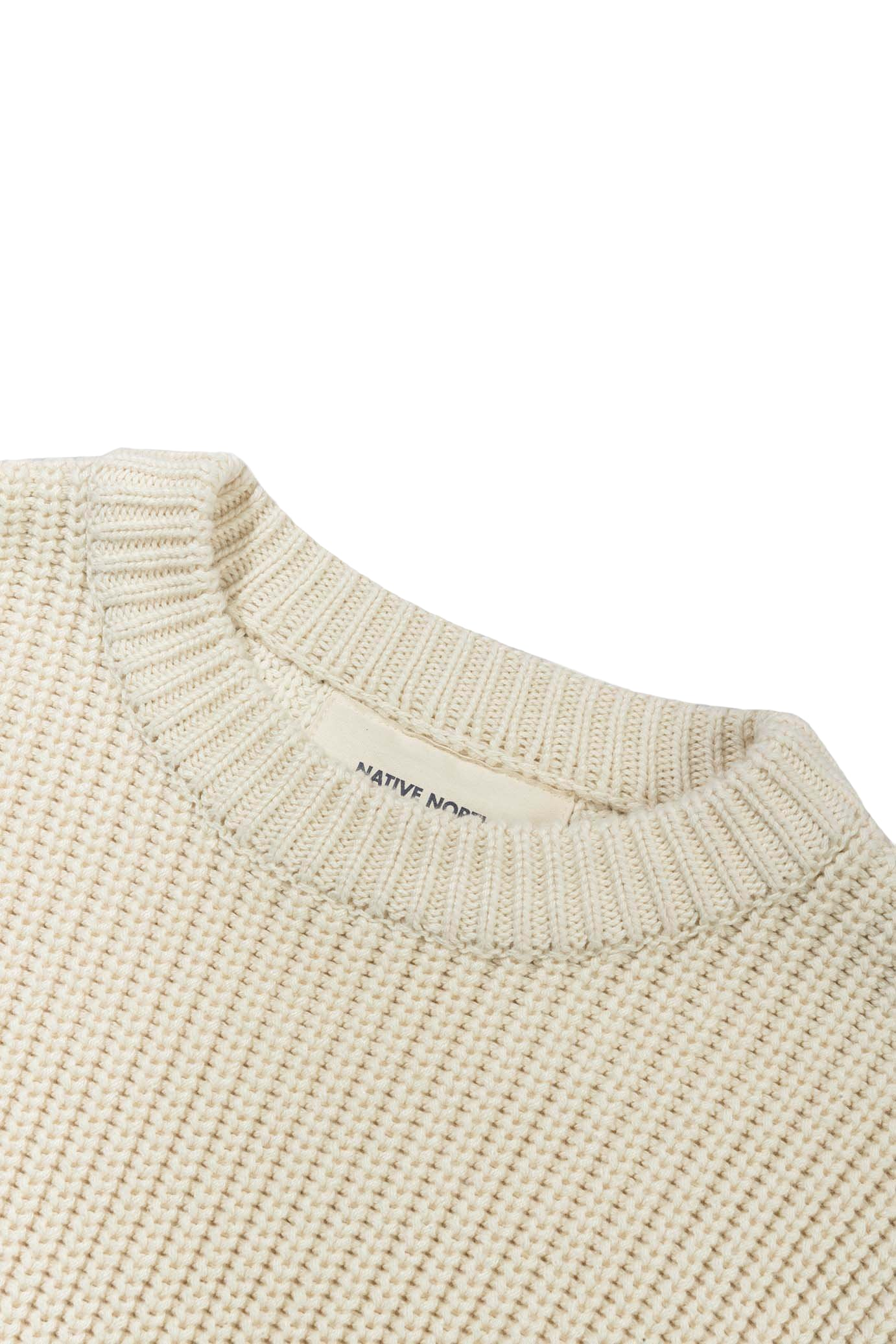 ASKER WOOL KNIT - OFF WHITE