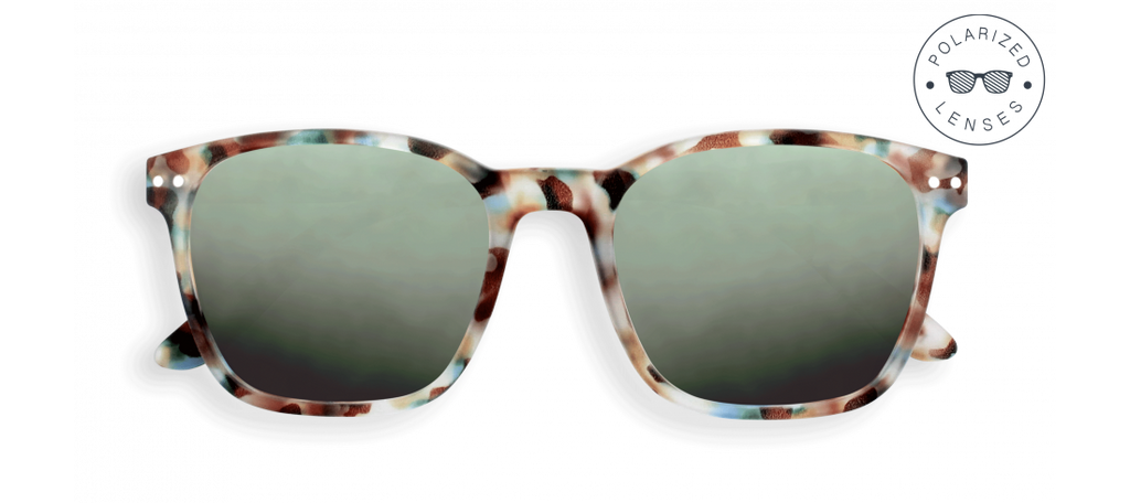 IZIPIZI ADULT NAUTIC SUNGLASSES - POLARIZED - BLUE TORTOISE