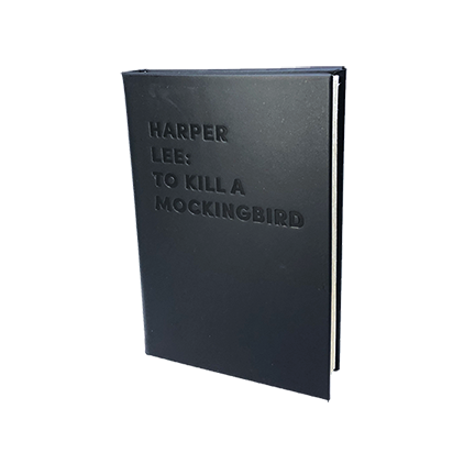HARPER LEE: TO KILL A MOCKINGBIRD - DEBOSSED LEATHER BOOK