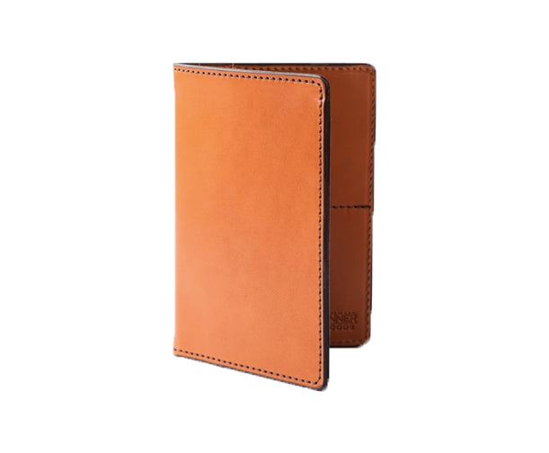 TRAVEL WALLET - SADDLE TAN